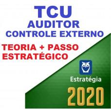 TCU - AUDITOR FEDERAL DE CONTROLE EXTERNO - TEORIA + PASSO ESTRATÉGICO - ESTRATEGIA 2020